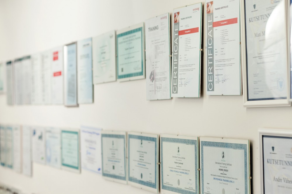 High quality standards. ISO9000 and ISO20000