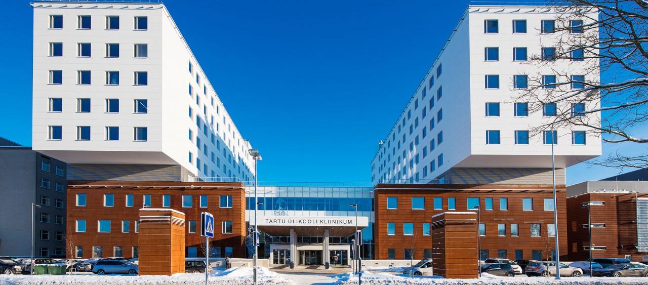 Tartu University Hospitals buidling